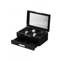 Rothenschild Watches & Jewellery Box RS-2351-10BL for 10 Watches Black