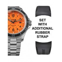 Traser H3 109379 P67 T25 SuperSub set orange 46 mm diver 50ATM