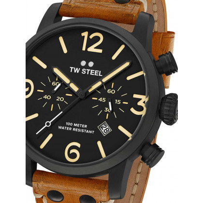 TW-Steel MS34 Maverick Chronograph 48mm 10 ATM