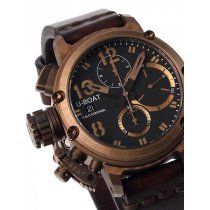 U-Boat 8014 Chimera Bronze Chronograph 43mm 10 ATM