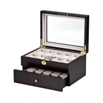 Rothenschild Watch Box RS-1672-20E for 20 Watches Ebony