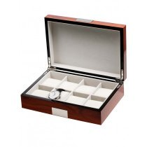 Rothenschild Watch Box RS-2022-8RO for 8 Watches Rosewood