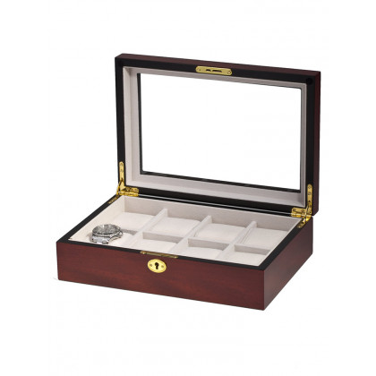 Rothenschild Watch Box RS-2105-8C for 8 Watches Cherry