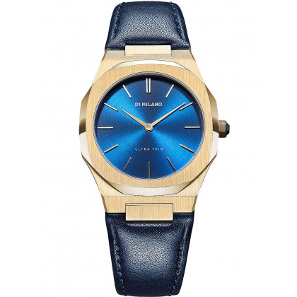 D1 Milano UTLL15 Lapis Ultra Thin Leather 34 mm ladies 5ATM