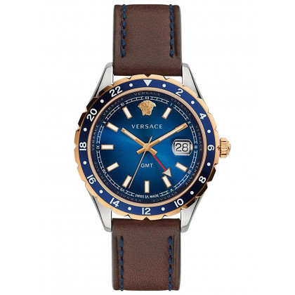 Versace V11080017 Hellenyium GMT men's 42mm 5ATM
