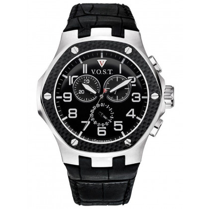 V.O.S.T. Germany V100.008.CS.SC.L.B Chronograph 44mm 20ATM