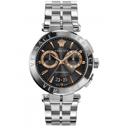 Versace VE1D01019 Aion chronograph men`s 45mm 5ATM
