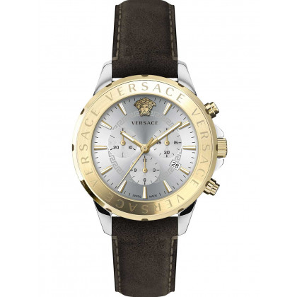 Versace VEV600219 Signature chronograph men`s 44mm 5ATM