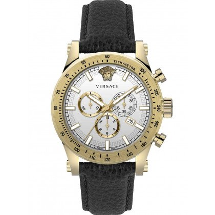 Versace VEV800319 Sporty chronograph men`s 44mm 5ATM
