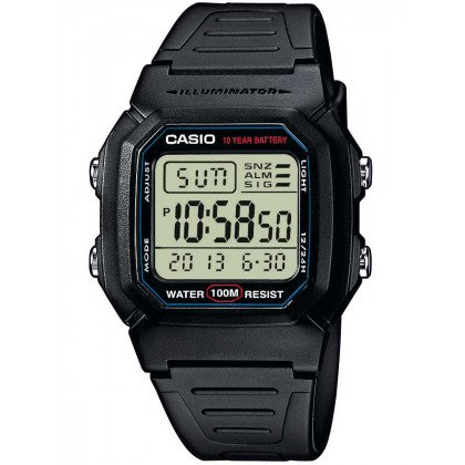 CASIO W-800H-1AVES Collection 37mm 10 ATM