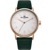 Ben Sherman WB070NBR Portobello Herringbone men`s 45mm 3ATM