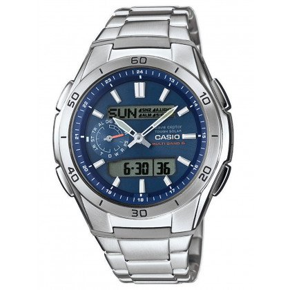 CASIO WVA-M650D-2AER Radio Controlled Solar 44mm 10 ATM