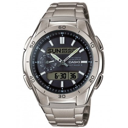 CASIO WVA-M650TD-1AER Radio Controlled Solar 44mm 10 ATM