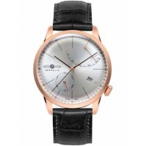 Zeppelin Flatline 7368-4 Men's Automatic Rose Gold 40 mm 50M