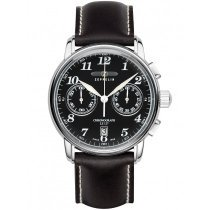 Zeppelin 7678-2 LZ127 Count Zeppelin Chronograph Black 42mm 10 ATM