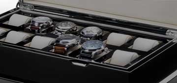 Watch boxes and showcases